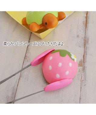 Mother garden 野いちご やわらかパン屋さんトング MGスクイーズパーツ ピンク(淡)