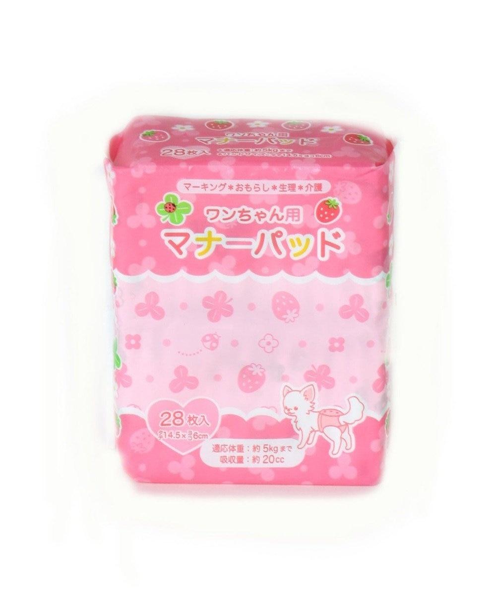 PET PARADISE ペティソワン わんちゃん用マナーパッド(小) 28枚入り ピンク(淡)