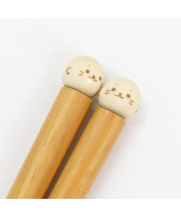 Mother garden しろたん お箸 玉箸 全長18cm