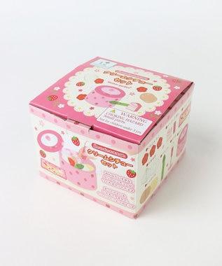 Mother garden 野いちご 木のおままごと お鍋&クリームシチューセット 抗菌 ピンク(淡)