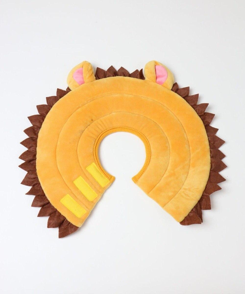 PET PARADISE 【ペットSM-L】なりきりペッツ エリザベスカラー ライオンL 黄