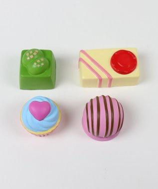 Mother garden MGスクイーズ やわらか春のチョコセット 柔らかおもちゃ マルチカラー