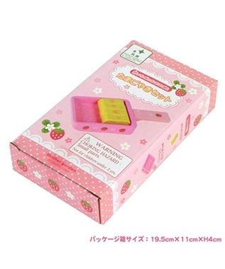 Mother garden マザーガーデン 木のおままごと たまご焼き器  ピンク(淡)