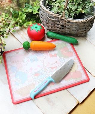 Mother garden うさもも 子供用刃つけ包丁 ほうちょう -