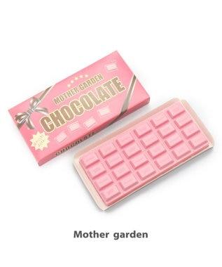 Mother garden マザーガーデン 柔らか板チョコ 苺 【MGスクイーズ】 ピンク(淡)