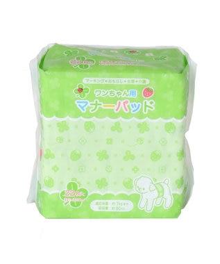 PET PARADISE ペティソワン わんちゃん用マナーパッド(中)22枚入り 黄緑