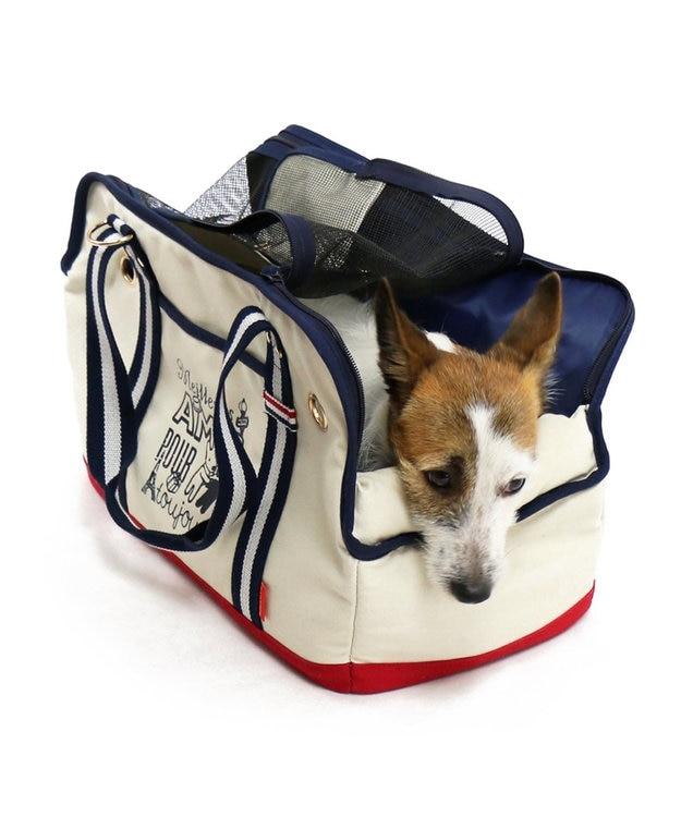 PET PARADISE リサとガスパール ペットキャリーバッグM あごのせトート〔小型犬〕