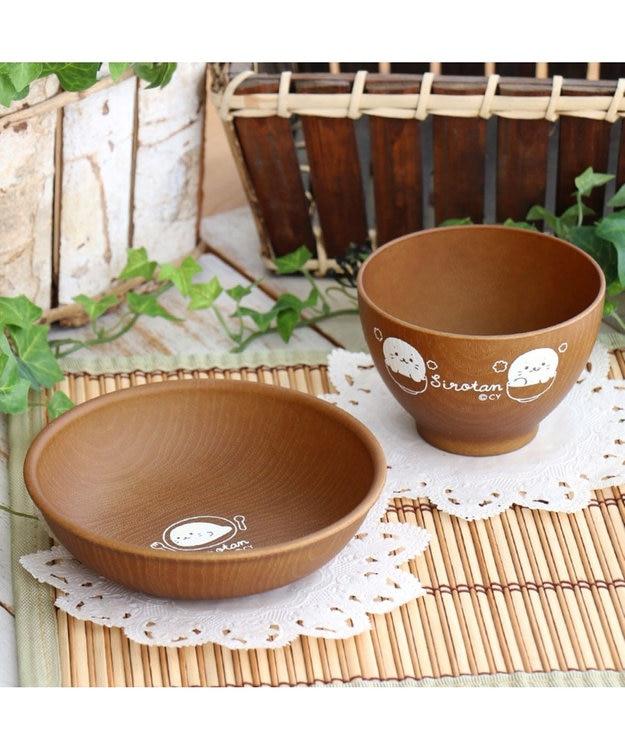 Mother garden しろたん 茶碗 スープ椀 木目風