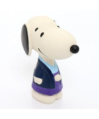 PET PARADISE スヌーピー 犬用おもちゃ 袴ラテックストイ 紺(ネイビー・インディゴ)