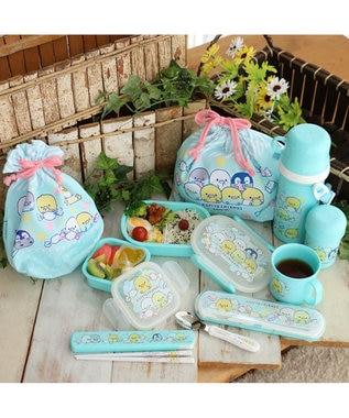 Mother garden こぴよフレンズ コンビセットお箸&スプーンセット 青緑