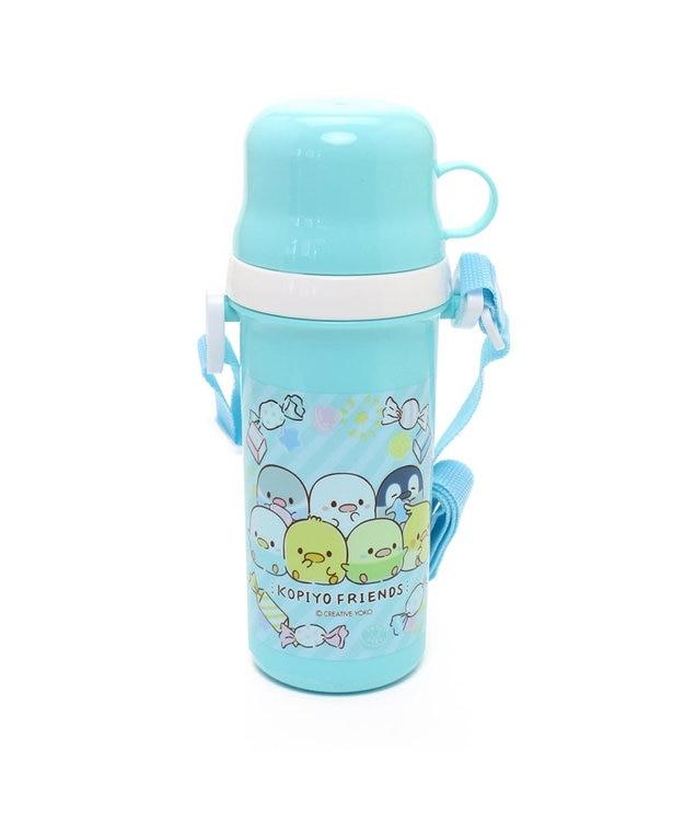 Mother garden こぴよフレンズ コップ付きプラ水筒直のみ子供用水筒