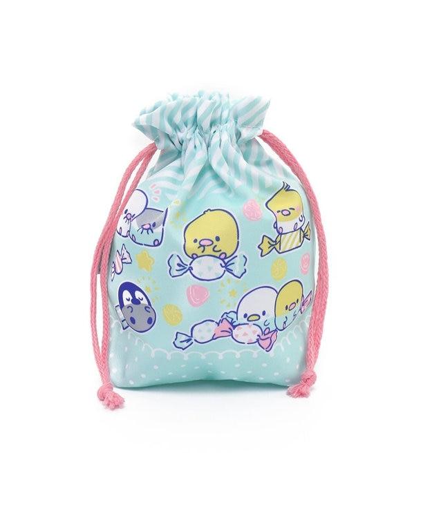 Mother garden こぴよフレンズ コップ巾着袋 プラコップ巾着 巾着 袋