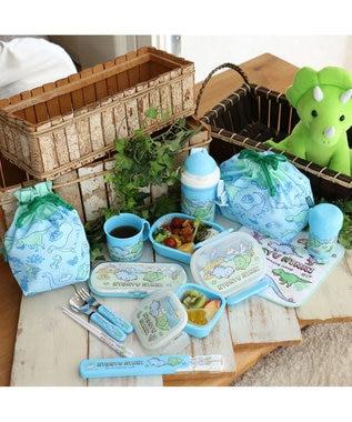 Mother garden マザーガーデン きょうりゅう日記 コップ巾着  コップ袋 黄緑