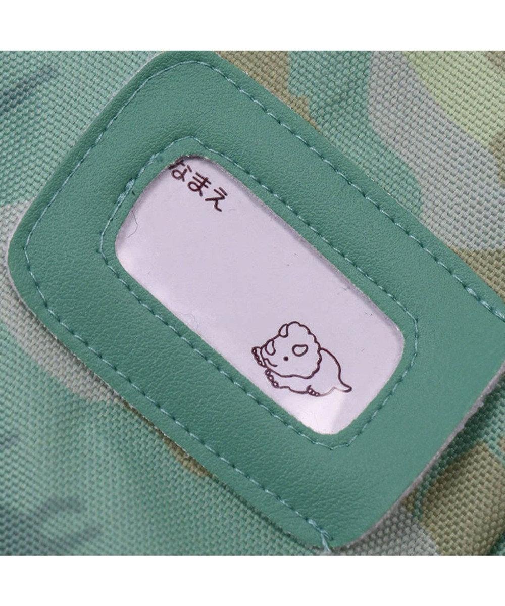 Mother garden マザーガーデン きょうりゅう日記 レッスンバッグ迷彩柄 青緑