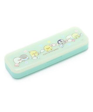 Mother garden こぴよフレンズ ペンケース プラ製 キャンディ柄 0