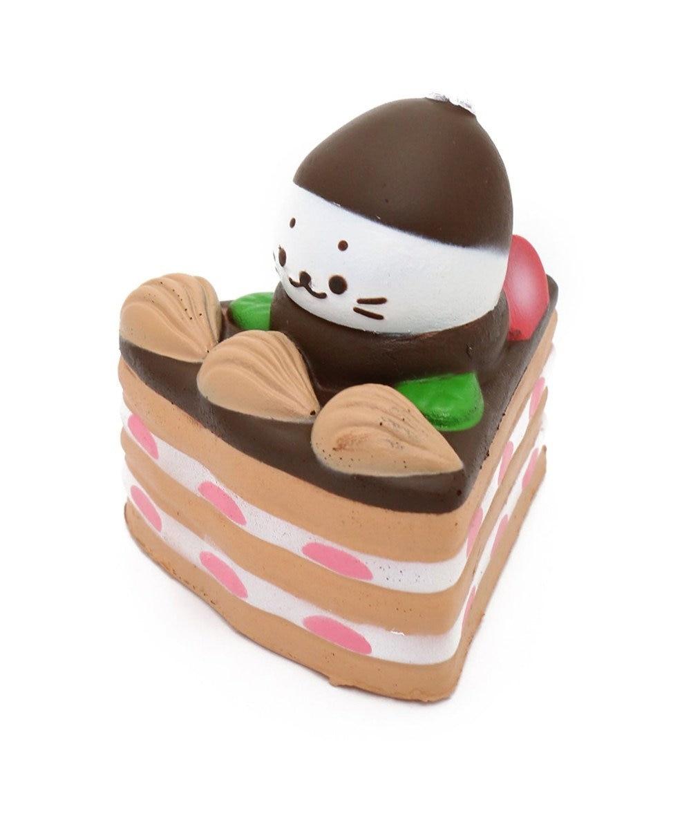 Mother garden しろたん やわらか しろたん チョコケーキ【MGスクイーズ】 0