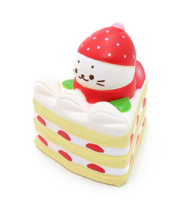 Mother garden しろたん やわらかショートケーキ 【MGスクイーズ】