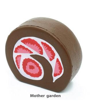 Mother garden マザーガーデン 柔らか苺チョコロール【MGスクイーズ】 茶系