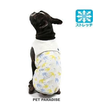 PET PARADISE スヌーピー ワンダフルストレッチ ツバメタンク [中型犬] 黄