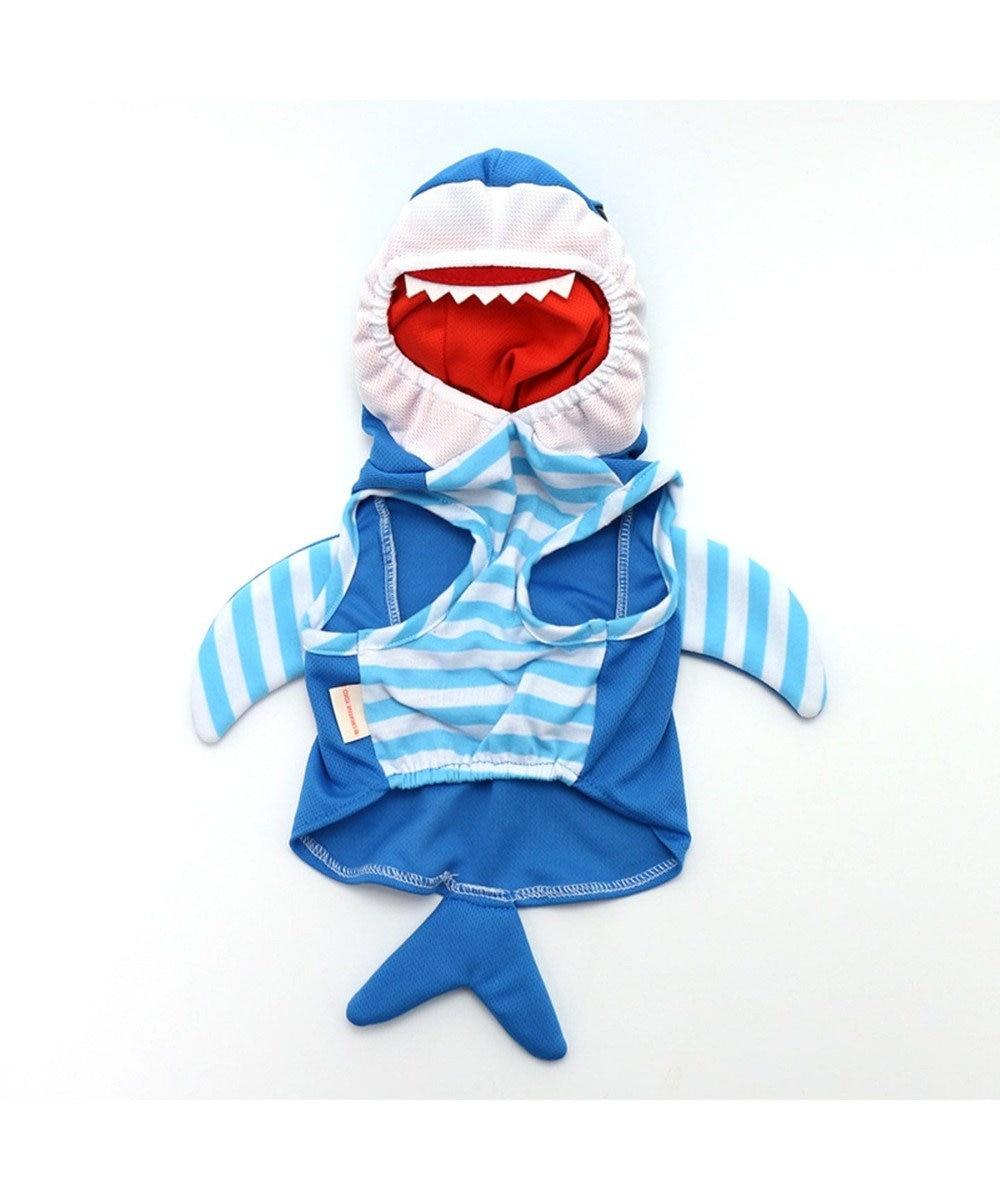 PET PARADISE なりきりペッツ 変身なりきり服 サメ さめ[中・大型犬] 青