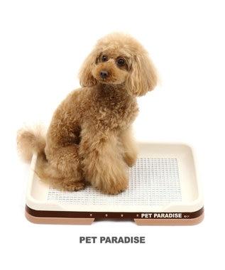PET PARADISE ペットパラダイス 2WAYトイレトレー  茶系