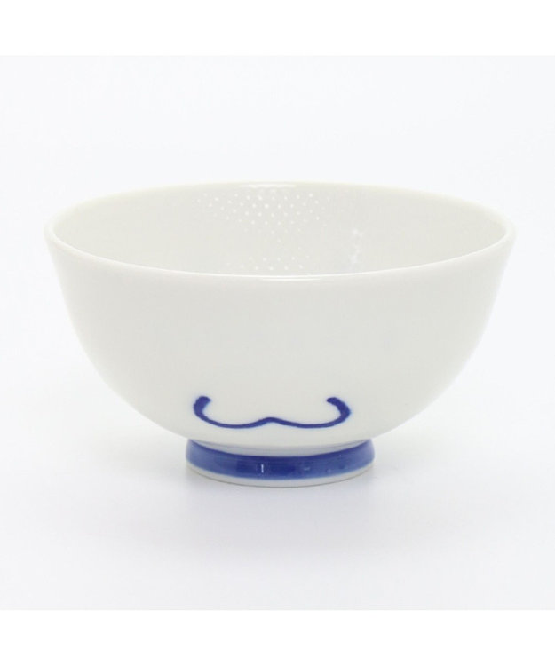 Mother garden しろたん くっつきにくい茶碗 ぼくにもひとくち・お米顔柄