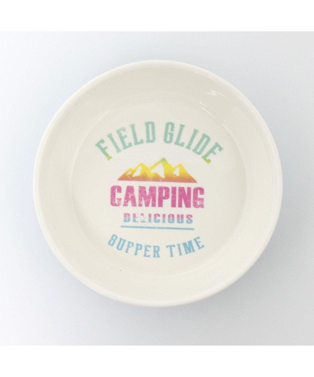 PET PARADISE フィールドグライド 陶器えさ皿 シンプル フードボウル 白~オフホワイト