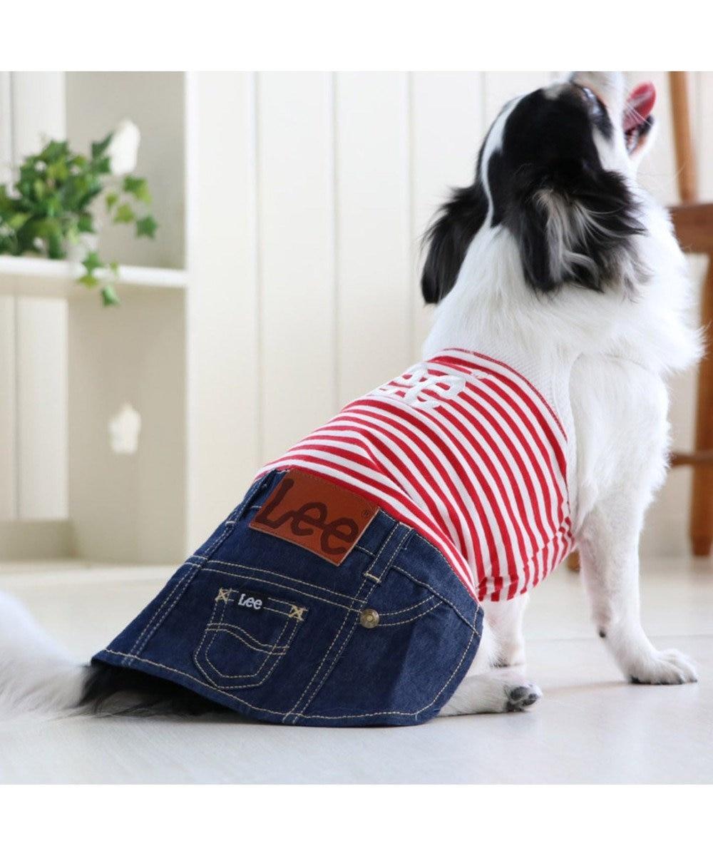 PET PARADISE Lee キャミインスカート上下[小型犬] 赤