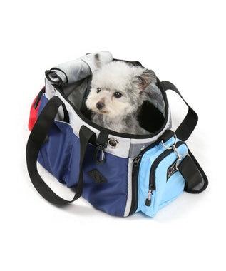 PET PARADISE フィールドグライド ペットキャリーバッグS カラフル〔超小型犬〕 紺(ネイビー・インディゴ)