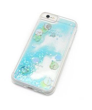 Mother garden こぴよフレンズ スマホケース ラメ アイフォン8/7/6/6S専用 iphone 水色