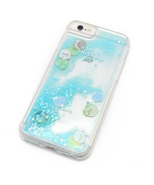 Mother garden こぴよフレンズ スマホケース ラメ アイフォン8/7/6/6S専用 iphone