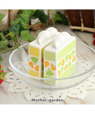 Mother garden マザーガーデン 木のおままごと フルーツケーキ 黄