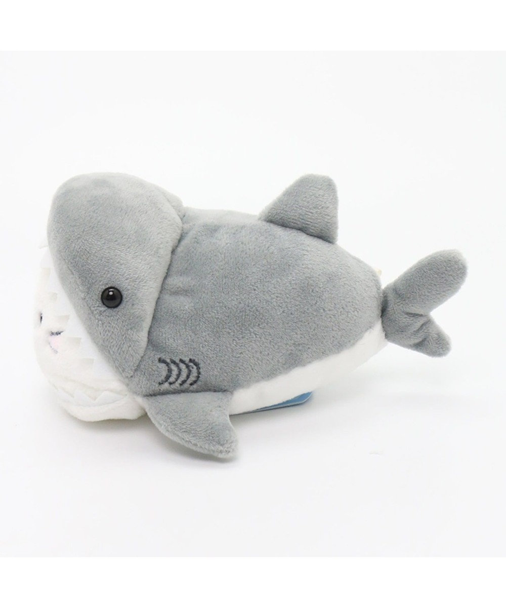 Mother garden しろたん 復刻サメに変身 ちびマスコット943-62852 グレー