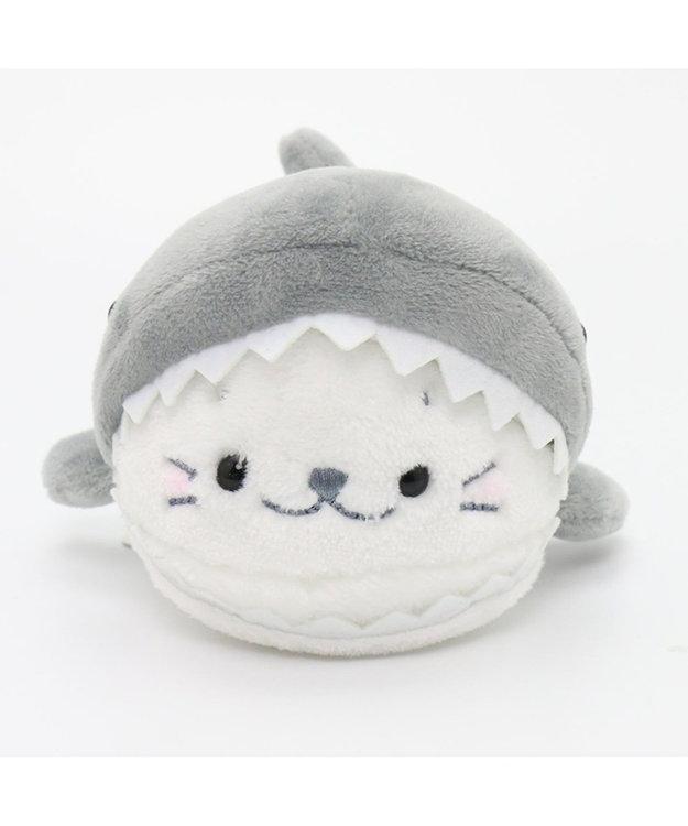 Mother garden しろたん 復刻サメに変身 ちびマスコット943-62852