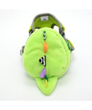 PET PARADISE なりきりペッツ リュック付きハーネス 恐竜 3S 黄緑