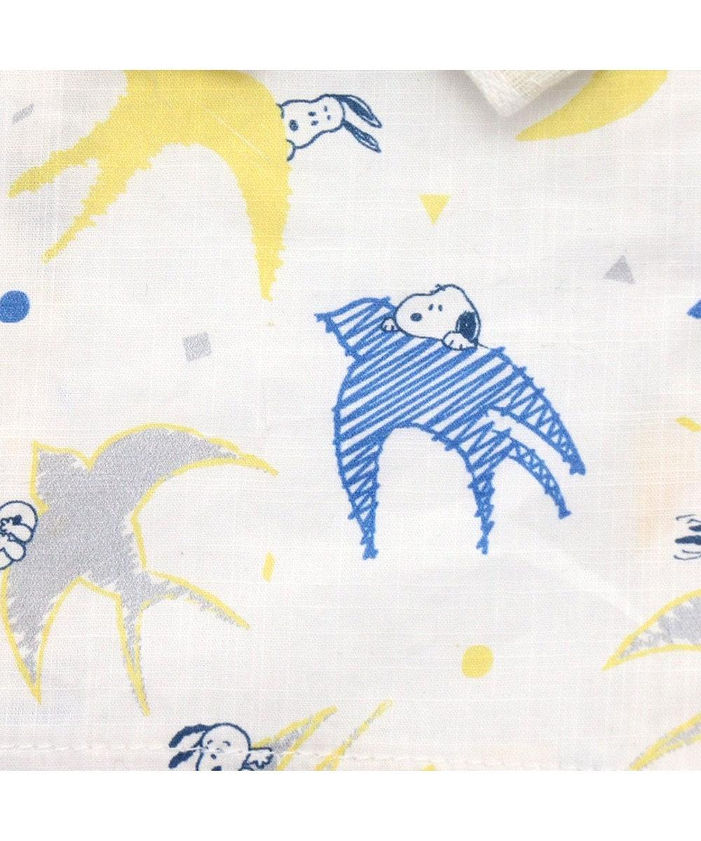 PET PARADISE スヌーピー つばめ浴衣 ゆかた[中型犬] 白~オフホワイト
