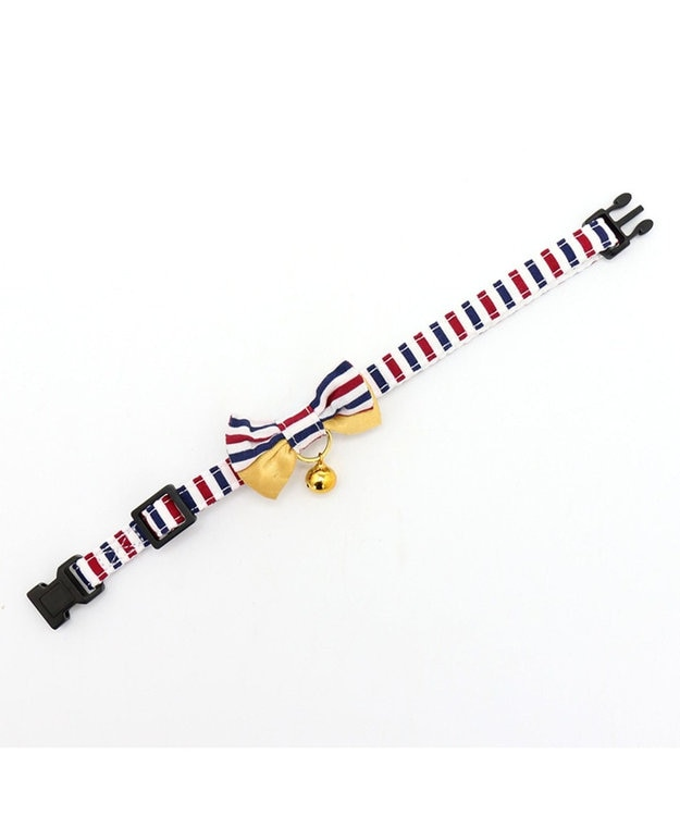PET PARADISE ネコネスト 猫用首輪M 2WAYトリコロール柄