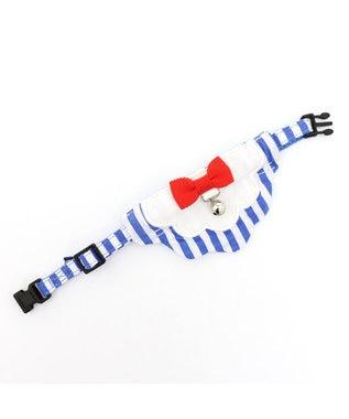PET PARADISE ネコネスト 猫用首輪M 2WAYストライプ柄 0