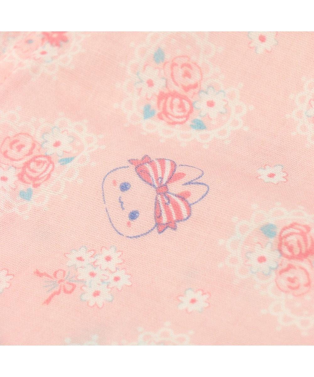 Mother garden うさもも 半そでパジャマ フローラル キッズサイズ 女の子 0