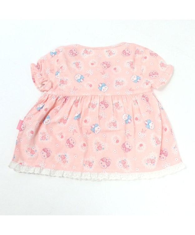 Mother garden うさもも 半そでパジャマ フローラル キッズサイズ 女の子