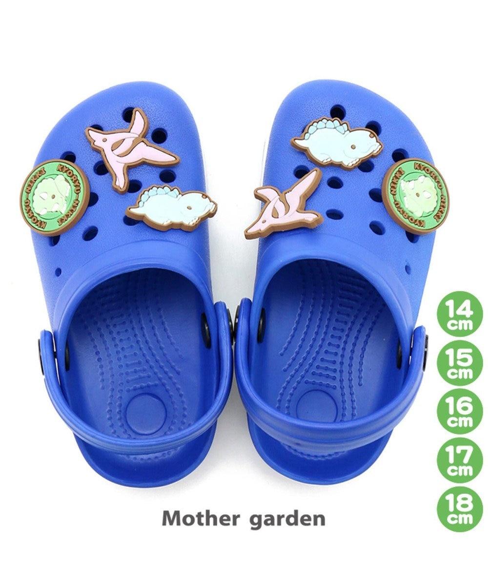 Mother garden きょうりゅう日記 サンダル スリッポン キッズサイズ プール 0