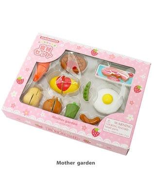 Mother garden マザーガーデン 木のおままごと みんな大好き食材セット 0
