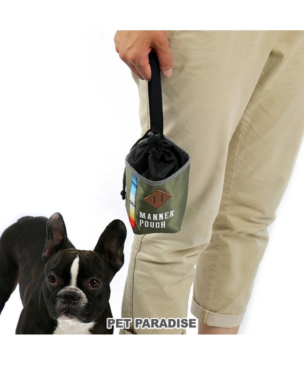 PET PARADISE フィールドグライド  消臭 マナーポーチ カーキ