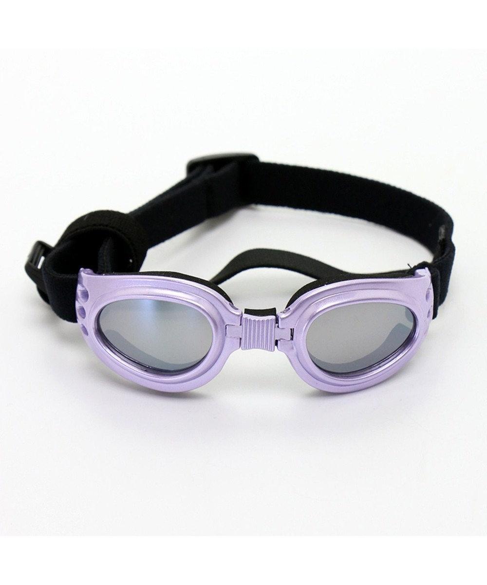PET PARADISE ペットパラダイス ペット用ゴーグル メタリック(紫) 紫