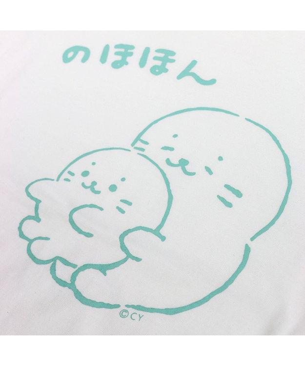 Mother garden ネット店限定発売!しろたん つぶやきTシャツ のほほん