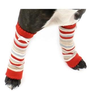 PET PARADISE ペットパラダイス レッグウォーマー(赤)[ペットSM] 赤