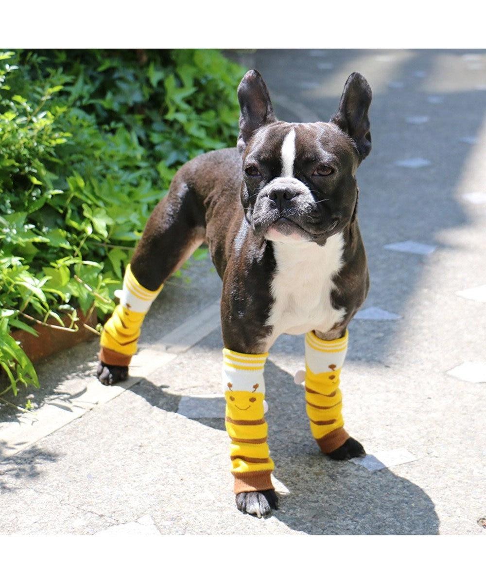 PET PARADISE なりきりペッツ レッグウォーマー[小型犬] 黄