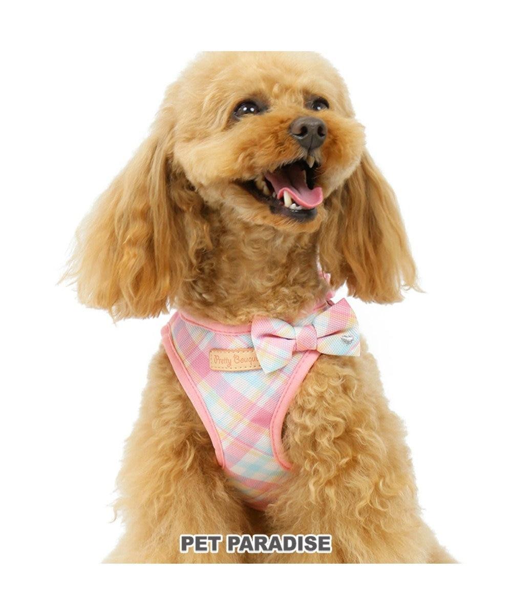 PET PARADISE プリティブーケ フィットハーネス ペットSS ピンク(淡)