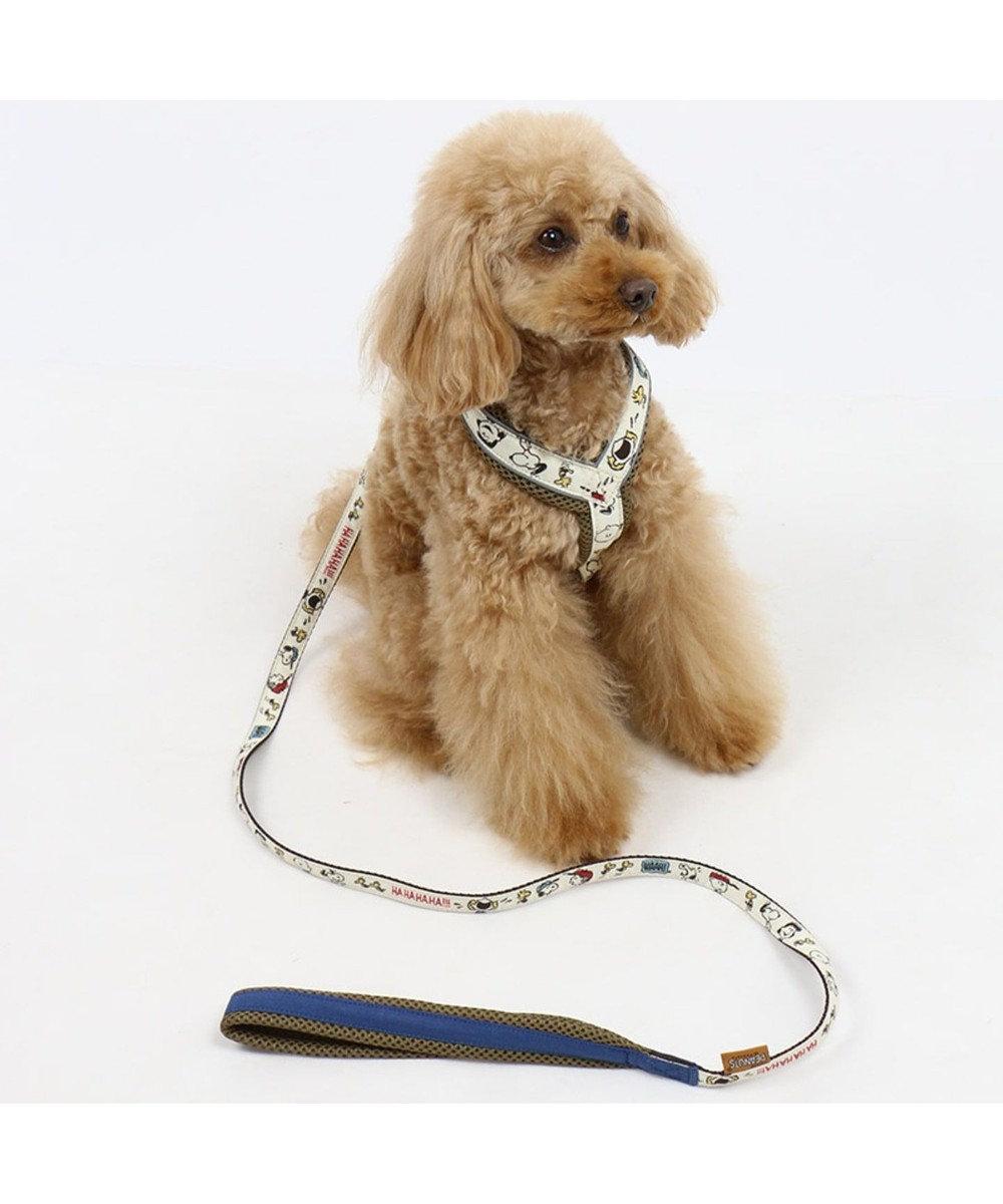 PET PARADISE 犬用品 ペットグッズ お散歩 ペットパラダイス 犬 リード スヌーピー 【SS~S】ファミリー柄 | 小型犬 おさんぽ おでかけ お出掛け おしゃれ オシャレ かわいい キャラクター 白~オフホワイト