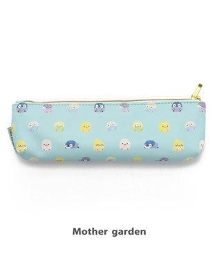 Mother garden こぴよフレンズ ペンケース ポーチ ミント 0